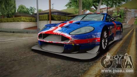 Aston Martin Racing DBRS9 GT3 2006 v1.0.6 YCH v2 for GTA San Andreas