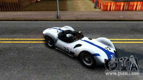 Maserati Tipo 61 for GTA San Andreas left view