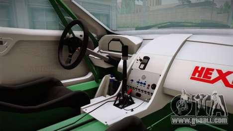 Aston Martin Racing DBRS9 GT3 2006 v1.0.6 YCH v2 for GTA San Andreas inner view