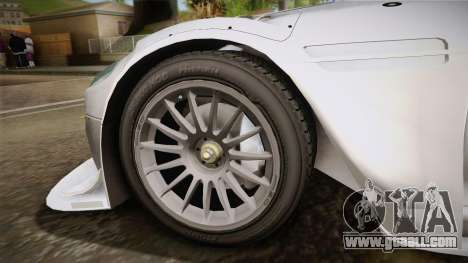 Aston Martin Racing DBR9 2005 v2.0.1 YCH for GTA San Andreas back left view