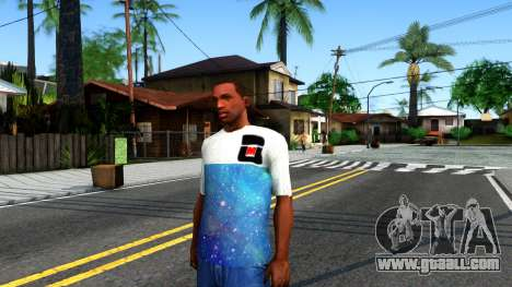 Design Galaxy T-Shirt for GTA San Andreas