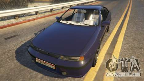 Opel Calibra GT v2 for GTA 5