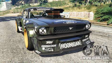 Ford Mustang 1965 Hoonicorn [add-on] for GTA 5