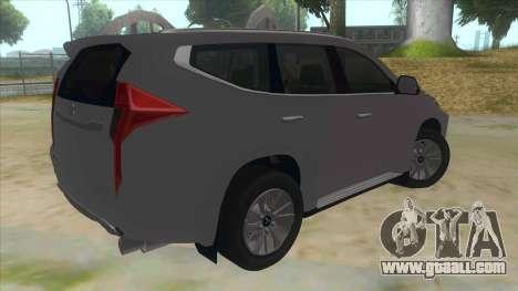 2016 Mitsubishi Montero Sport for GTA San Andreas
