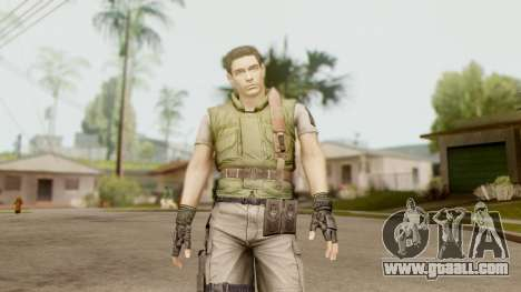 Resident Evil HD - Chris Redfield S.T.A.R.S for GTA San Andreas second screenshot