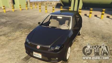 Fiat Palio Way Brasil 2015 for GTA 5