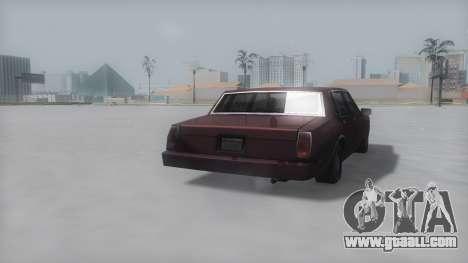 Tahoma Winter IVF for GTA San Andreas left view