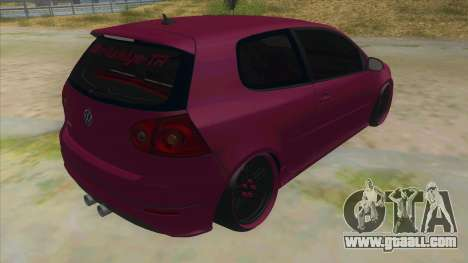 Volkswagen Golf MK for GTA San Andreas right view