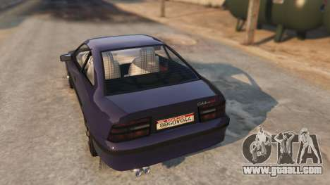 GTA 5 Opel Calibra GT v2 rear left side view