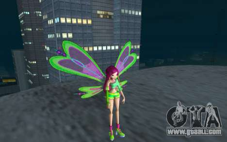 Fairy Roxy from Winx Club Rockstars for GTA San Andreas