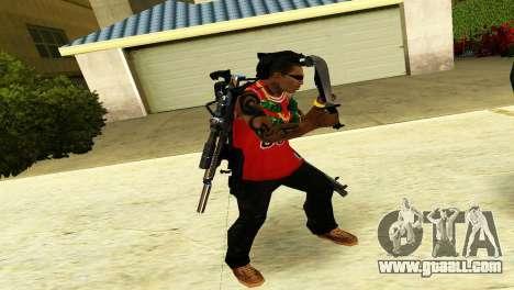 Crocodile Dundee Knife OUTBACK for GTA San Andreas