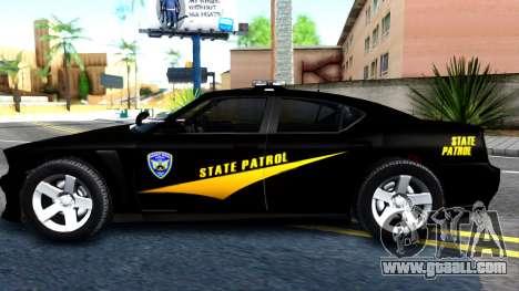 Bravado Buffalo State Patrol 2013 for GTA San Andreas left view