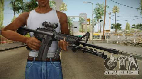 M4A1 ACOG for GTA San Andreas
