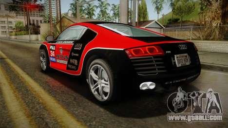 Audi R8 Coupe 4.2 FSI quattro EU-Spec 2008 for GTA San Andreas