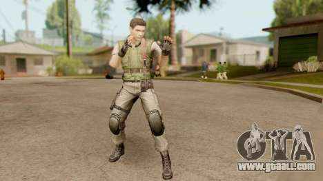 Resident Evil HD - Chris Redfield S.T.A.R.S for GTA San Andreas