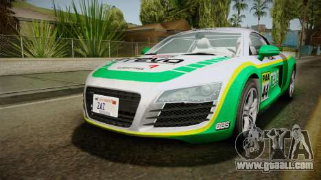 Audi R8 Coupe 4.2 FSI quattro EU-Spec 2008 for GTA San Andreas engine