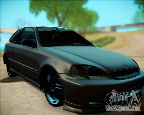 Honda Civic Hatchback for GTA San Andreas