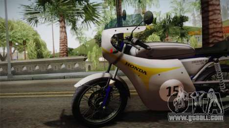 Honda Dream (RC142) 1988 for GTA San Andreas back left view