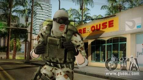 Resident Evil ORC Spec Ops v3 for GTA San Andreas