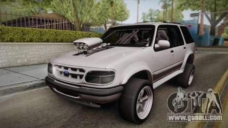 Ford Explorer 1996 Drag for GTA San Andreas