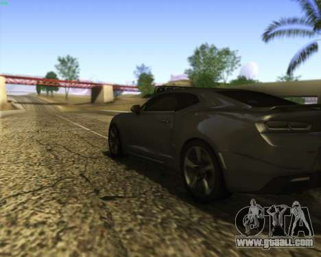 Chevrolet Camaro SS Xtreme for GTA San Andreas side view