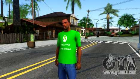 T-Shirt Xbox1 for GTA San Andreas