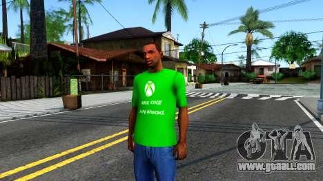 T-Shirt Xbox1 for GTA San Andreas