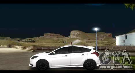 Ford Focus ST 2013 Training for GTA San Andreas left view