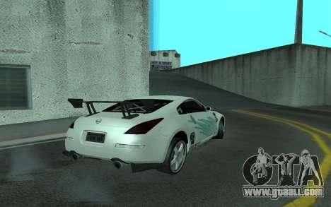 Nissan 350Z for GTA San Andreas