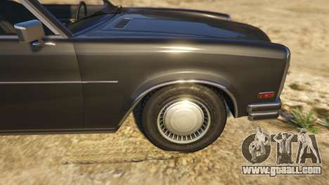 GTA 5 Glendale Station Wagon rear right side view