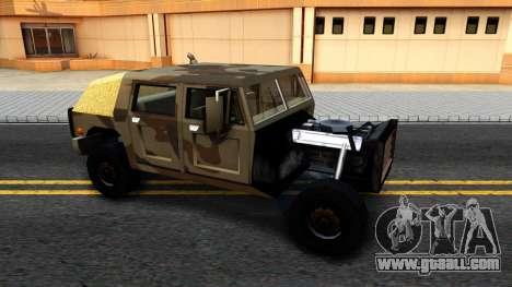 New Patriot GTA V for GTA San Andreas