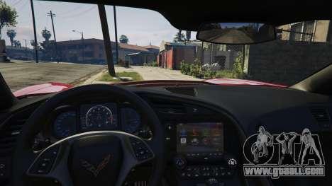 GTA 5 2014 Chevrolet Corvette C7 Stingray right side view