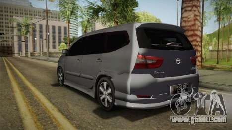 Nissan Grand Livina Highway Star for GTA San Andreas left view