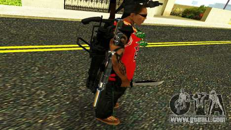 Crocodile Dundee Knife OUTBACK for GTA San Andreas