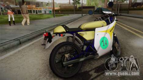 Honda Dream (RC142) 1988 for GTA San Andreas left view