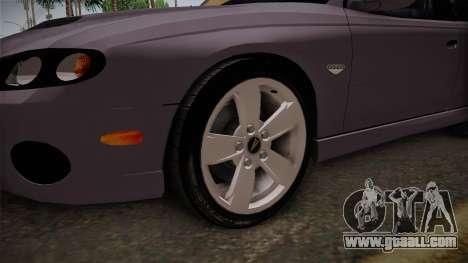 Pontiac GTO Hot Wheels NASCAR PJ for GTA San Andreas back view