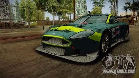 Aston Martin Racing DBR9 2005 v2.0.1 Dirt for GTA San Andreas wheels