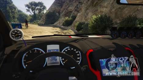 Isuzu D-Max X-Series 2015 for GTA 5