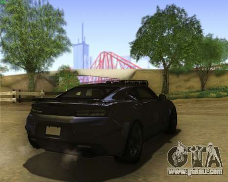 Chevrolet Camaro SS Xtreme for GTA San Andreas right view