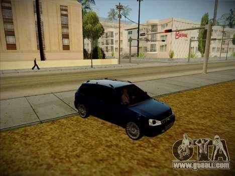 VAZ Kalina 1117 Karelian Edition for GTA San Andreas right view