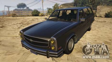 Glendale Station Wagon for GTA 5