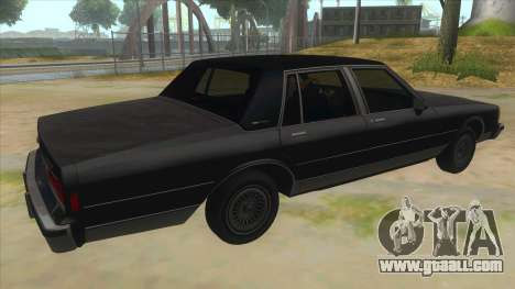 Chevrolet Caprice Brougham 1986 for GTA San Andreas right view