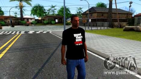 GTA Online T-Shirt for GTA San Andreas second screenshot