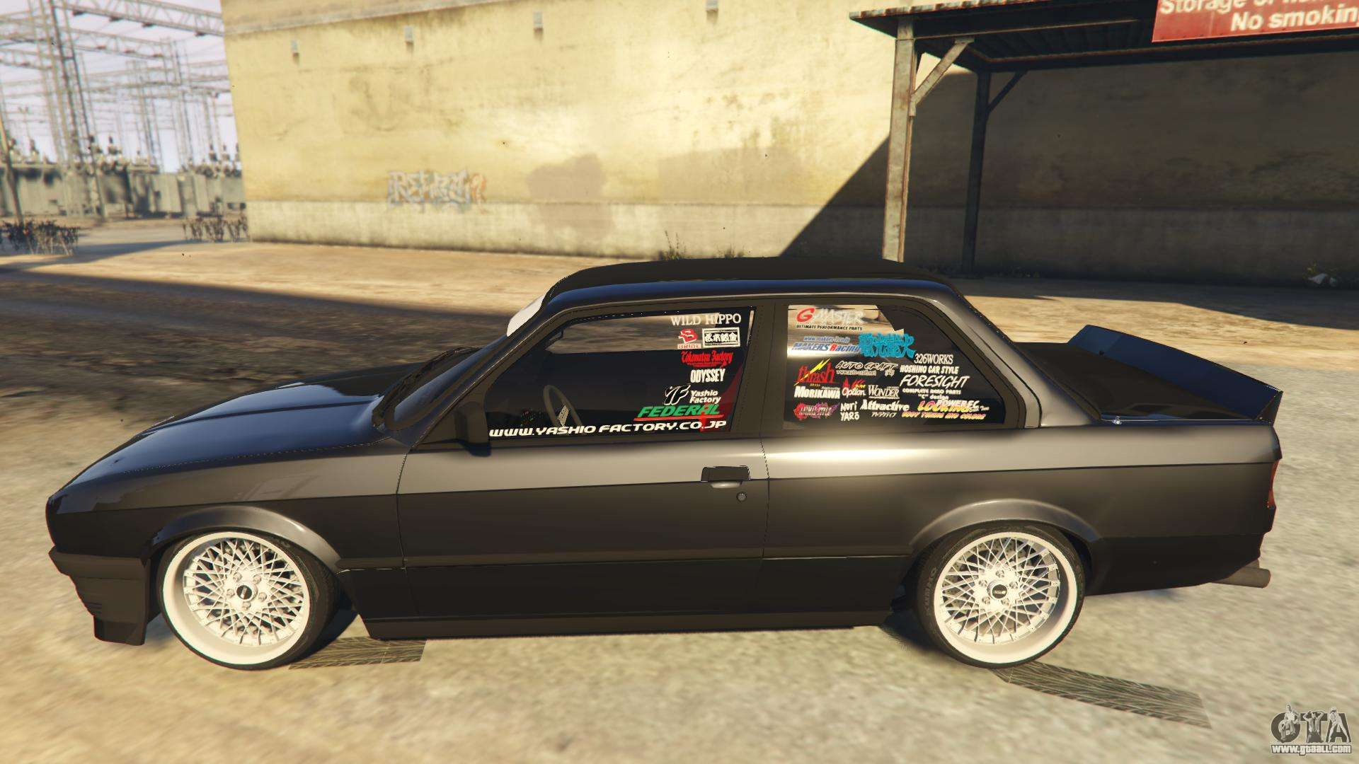 E30 Side View >> BMW E30 Drift for GTA 5