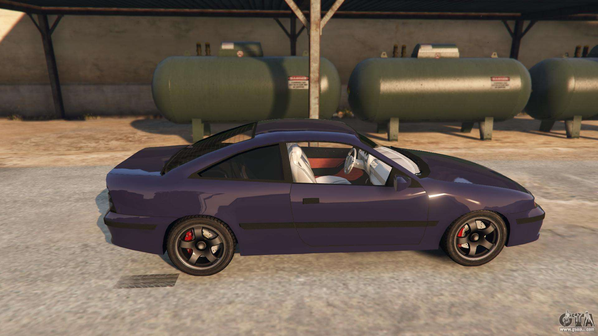 opel calibra gt v2 for gta 5. Black Bedroom Furniture Sets. Home Design Ideas