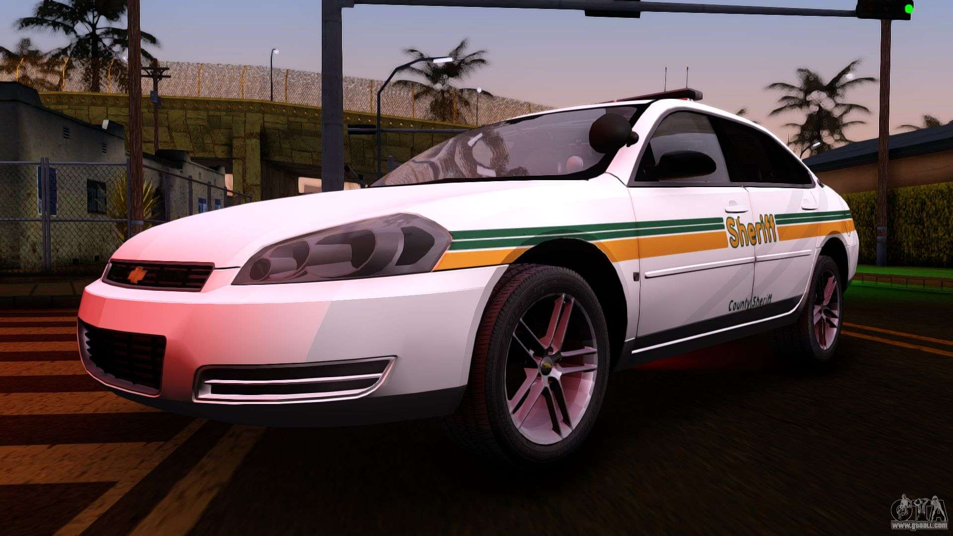 2008 chevrolet impala ltz county sheriff for gta san andreas. Black Bedroom Furniture Sets. Home Design Ideas