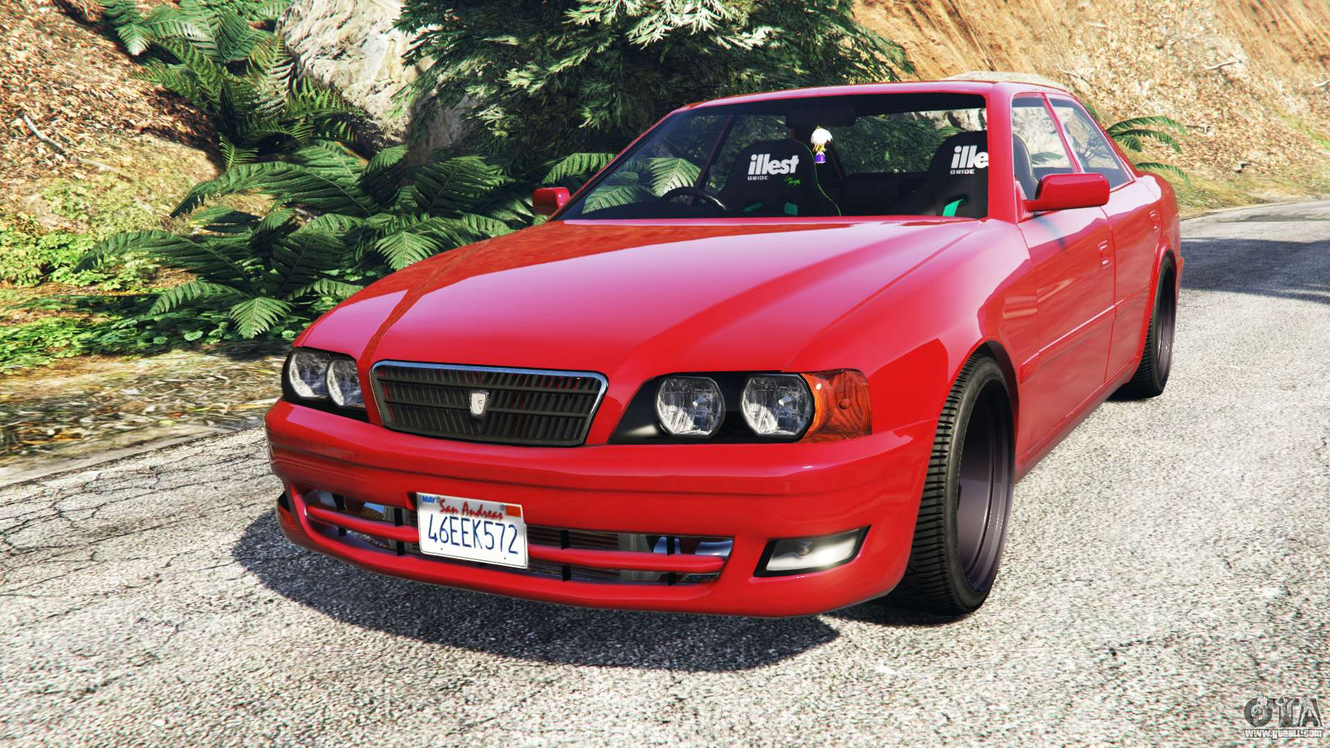 Toyota Chaser JZX100 Cambered Add On For GTA 5