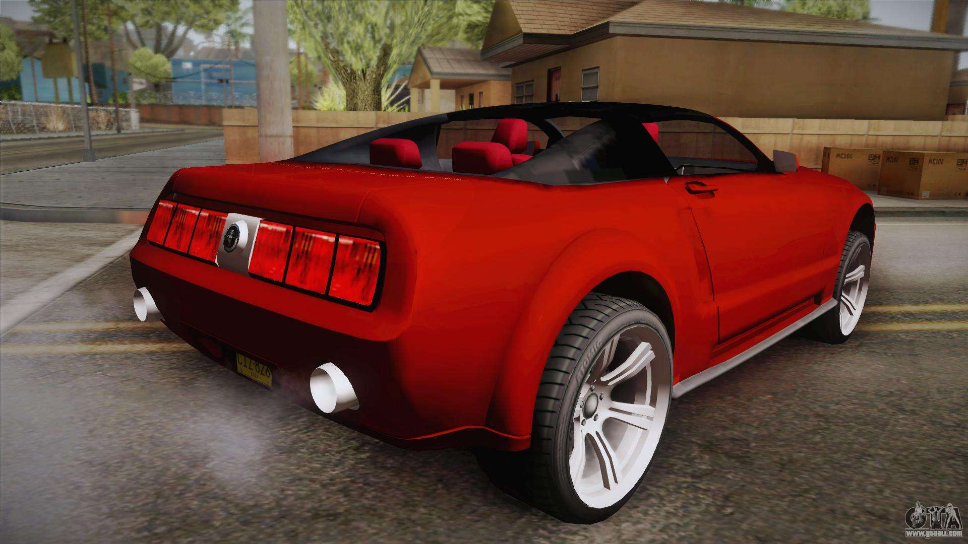 ford mustang 2005 for gta san andreas. Black Bedroom Furniture Sets. Home Design Ideas