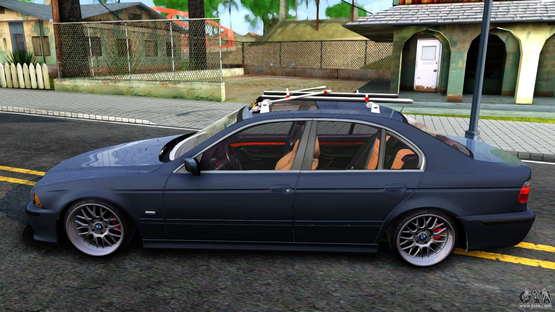 bmw e39 530d for gta san andreas. Black Bedroom Furniture Sets. Home Design Ideas