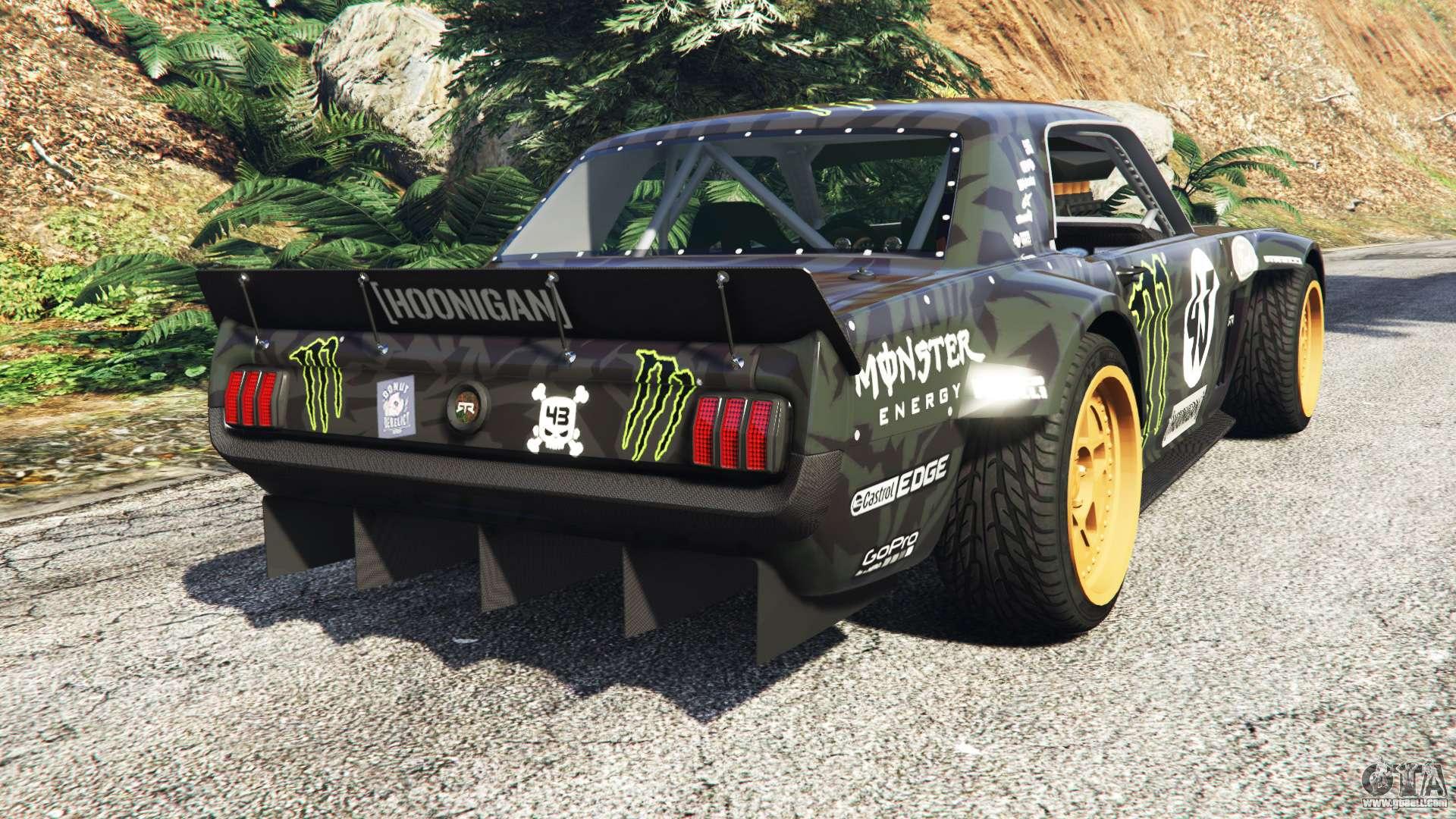 Ford mustang 1965 hoonicorn drift add on